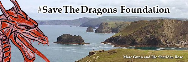 Save the Dragons Foundation | Marc Gunn and Rie Sheridan Rose